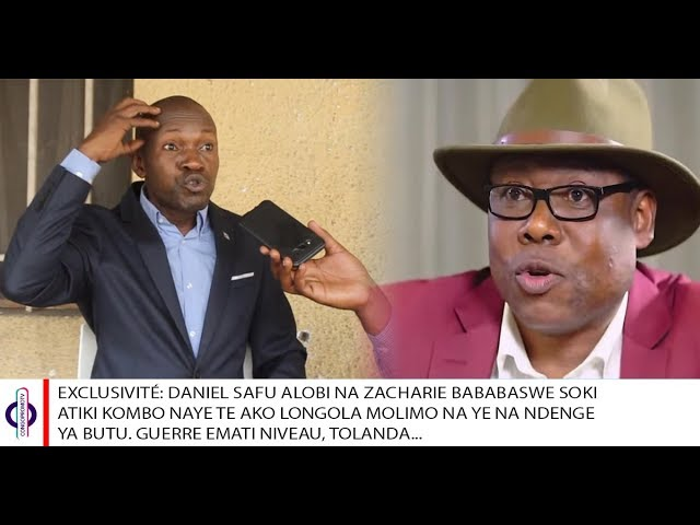 Daniel Safu répond à l'honorable Zacharie Bababaswe