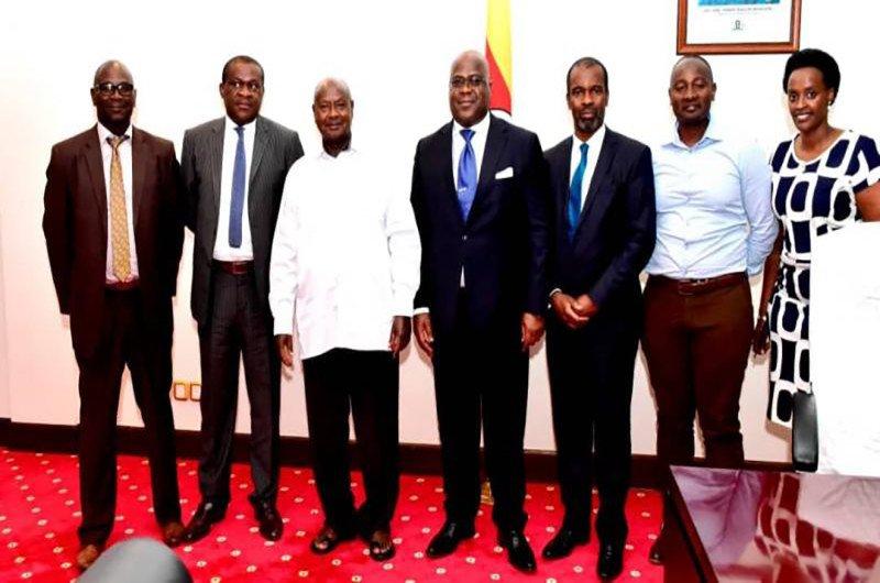 Tête-à-tête entre Félix Tshisekedi et Museveni