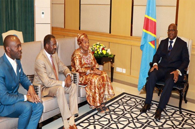 """RDC : """"L'U.A sera toujours aux côtés du peuple congolais"""", Minata Samate après être reçue par le président F. Tshisekedi"""