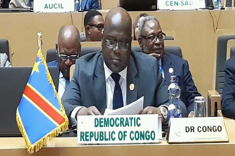 A Addis-Abeba, Tshisekedi continue son offensive diplomatique